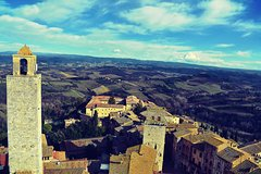 Kid-Friendly Siena & San Gimignano Full Day Tour from Florence w Privat