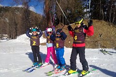 From snowplough to parallel skis in two days