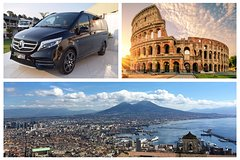 Naples - Rome Private Transfer in Minivan