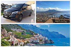 Amalfi-Naples Private Transfer in Minivan