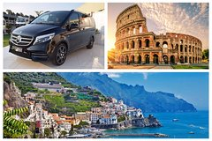 Amalfi Coast (Positano and Amalfi) - Rome Private Transfer in Minivan