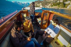 Best of Lake Como FD (f / Milan): Varenna, Bellagio + Venetian-style boat cruise