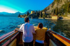Best of Lake Como: Tour + exclusive venetian-style boat cruise (small group