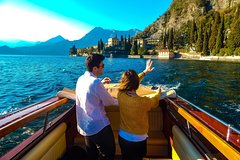 Best of Lake Como HD (f / Milan): Varenna + mini boat cruise to Bellagio