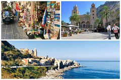 Private Tour to Cefalù and Monreale with Local Guide - starting from Palermo
