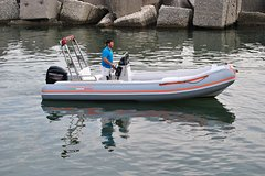 Inflatable boat without Master Magnum license 20