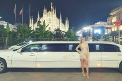 Stretch limousine hire in Milan
