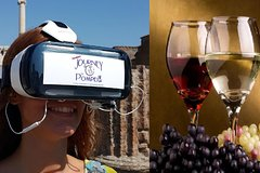 Wine tasting & Pompeii Guided Tour with VR Headsets