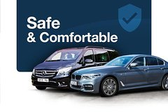 Imagen Arrival or Departure Private Transfer: London LHR Airport to City Center