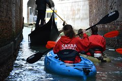 45' Kayak Tour of Venice 2019