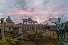 24 or 48hr Hop-on Hop-off Bus Tour with Skip-the-line Roman Forum & Palatine Hill