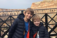 Skip The Line Colosseum and Ancient Rome Semi-Private Tour For Kids