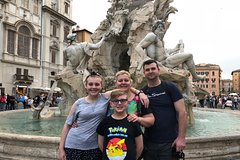 All In One Tour: Roman Highlights - Trevi Fountain Spanish Steps & Pant