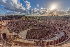 Above the Sky Colosseum Tour with Roman Forum & Palatine Hill:Exclusive Entrance