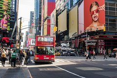 New York Hop On Hop Off Bus Tour plus Attractions (1, 2, 3 Day Options)