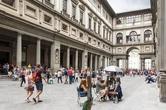 BE THE FIRST! Early Bird Florence Half Day Tour: Uffizi, Accademia, Walking