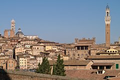 Siena City Walking Small Group Tour Including Piazza Del Campo and Highlights