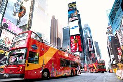 New York Hop-On Hop-Off Bus Tour plus Attractions (1, 2, 3 Day Options)
