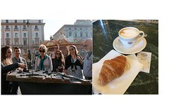 Florence: Walking tour with Italian Breakfast in the oldest café in Florence