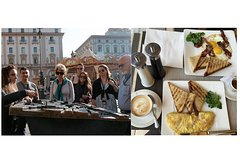 Florence: Walking Tour with English Breakfast in the oldest café in Florence