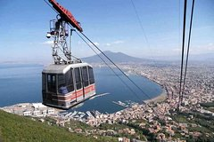 Best CABLE CAR Experience Sorrento Coast, Mount Faito, Stabia Roman Ruins