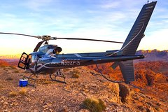 Grand Canyon Helicopter Flight and Sunset Valley of Fire Landing