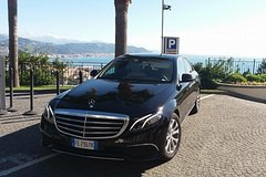 Private Transfer by luxury Mercedes and private boat from Rome to Capri