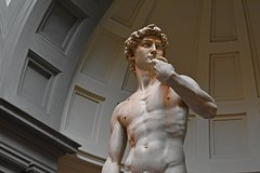 Kid-Friendly Florence Accademia Tour w Michelangelo's David & City Wonders