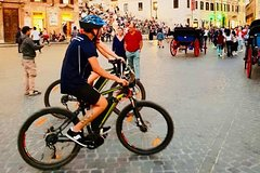 Imperial Rome tour by electric bike with assisted pedaling