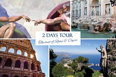 Rome and Capri: 2 Days Private Tours from Rome