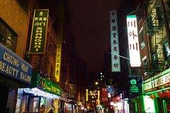 Night Time NYC Walking Tour - WTC | Brooklyn Bridge | Chinatown | Little Italy