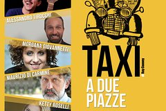 "Tickets ""two-seater taxi"" comedy show"