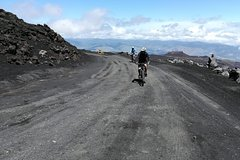 Etna Cycling to the Top from Taormina