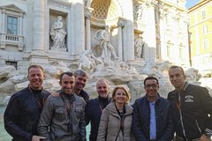 Walking Tour of Rome Trevi Fountain, Pantheon & Spanish Steps with a Roman Guide