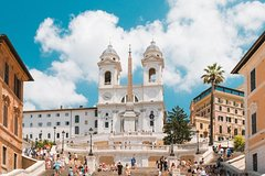 Walking Tour of Rome Trevi Fountain, Pantheon & Spanish Steps with a Ro