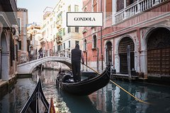 Grand Canal Gondola Ride And Golden Basilica with Optional Glass Craftsman at work