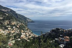 Amalfi Coast private tour from Naples Hotel or Port with English speaking driver