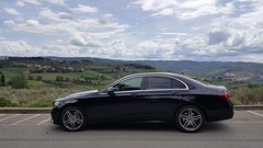 San Gimignano and Siena in Mercedes E and private driver