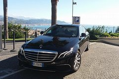 Private Transfer by Mercedes and private boat from Rome to Capri