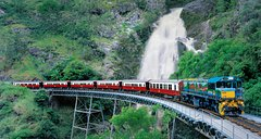Classic Kuranda by Skyrail and Scenic Railway Including Rainforestation, Koala and Wildlife Park and Pamagirri Aboriginal Experience