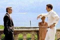 Movie sets on Lake Como