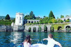 Day Cruise (max 4 p) in beautiful Lake Maggiore, Milan (Train included)