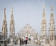 Milan Duomo, Archaeological Area & Rooftops Private Fast-Track Guided T