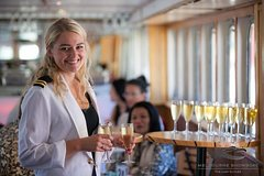 Imagen Champagne & Seafood Brunch Cruise - A Decadent Spread at High Sea