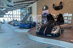 Pagani Ducati Lamborghini Factory and Museum Day Tour from Bologna