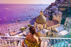 1 day tour: Amalfi, Positano, Vietri, and Sorrento starting from central Ro