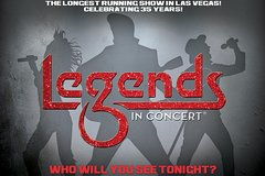 Legends in Concert at the Tropicana Las Vegas