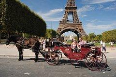 Imagen Paseo romántico en coche de caballos por París