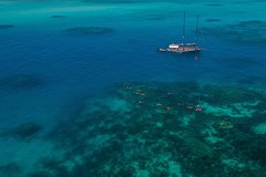 Green Island & Great Barrier Reef Sailing Cruise from Cairns - only 25 guests