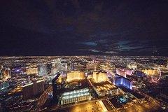 Las Vegas Strip Helicopter Flight at Twilight
